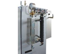 Generatore di vapore - Livello ottico e sensori livello