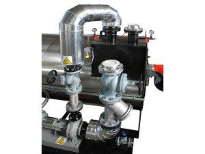 Riscaldatore olio diatermico - Pompa e tubazioni