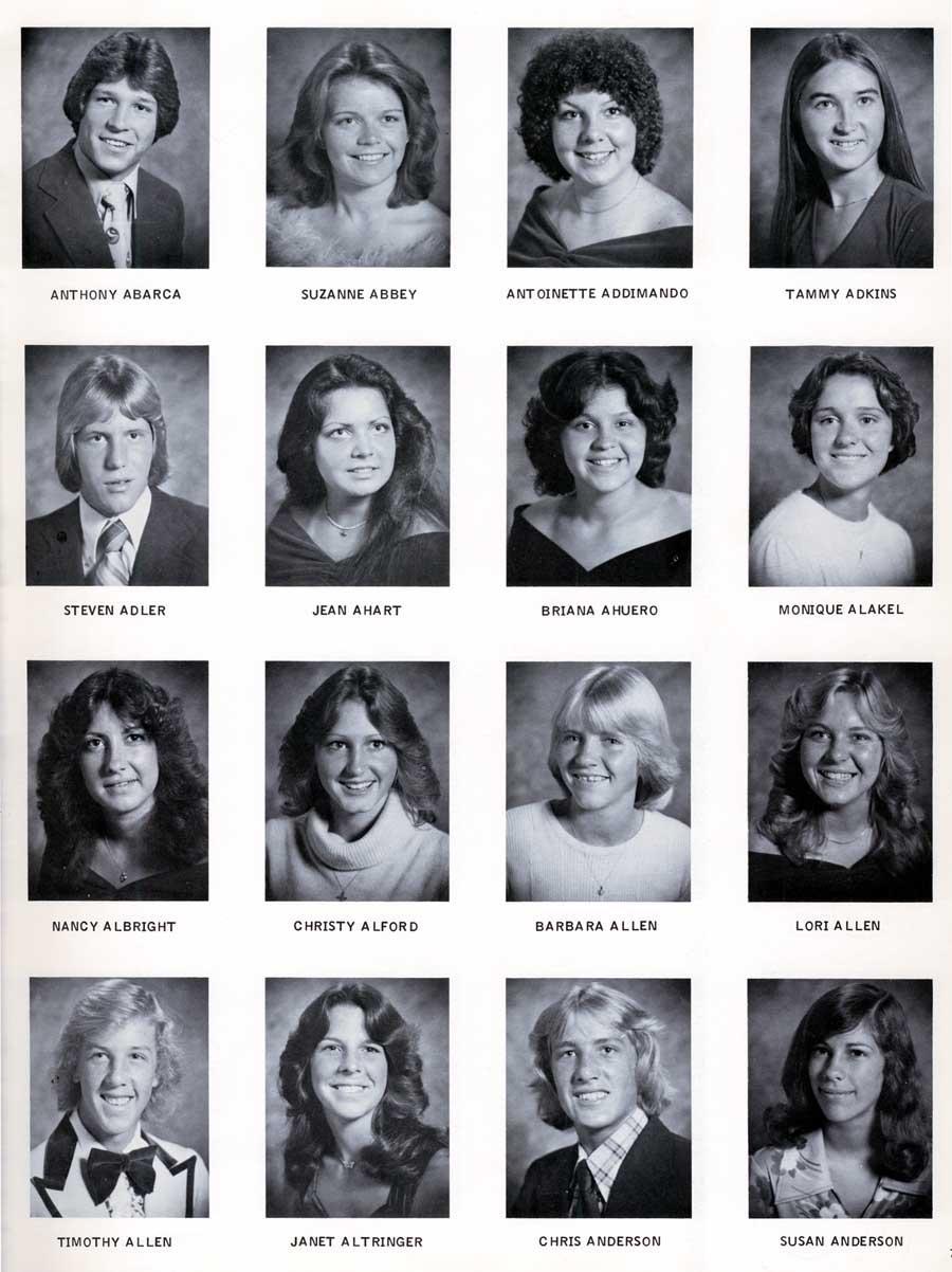 Farrington High School Yearbook 1984