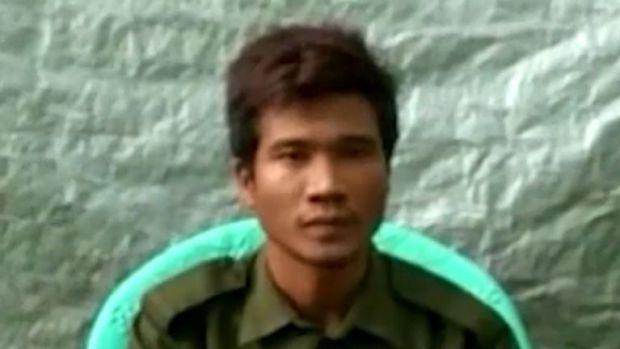 El soldado Zaw Naing Tun estuvo involucrado en ataques a 20 aldeas rohingyas