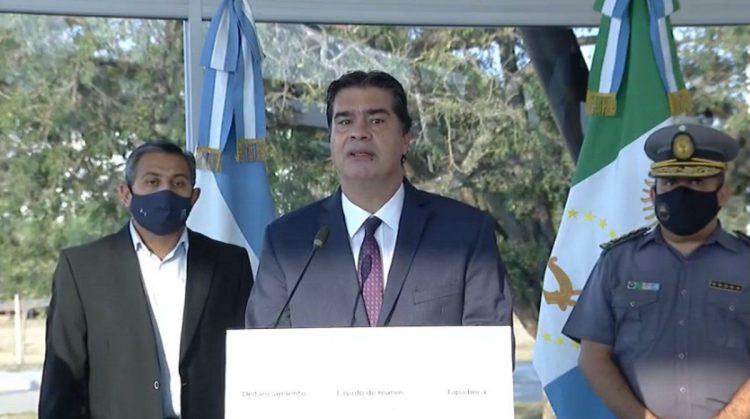 """Capitanich:"""" El aumento para la fuerza policial es del 7.8%"""""""