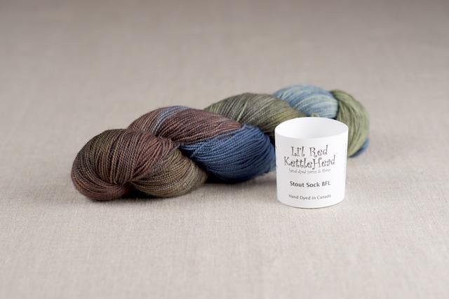 Stout Sock BFL - Lakeside
