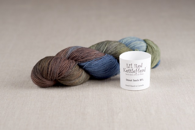 Stout Sock BFL - Lakeside
