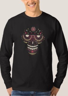Black Mask Long Sleeve T-Shirt