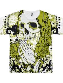 Santa Muerte - Short sleeve men's t-shirt 1