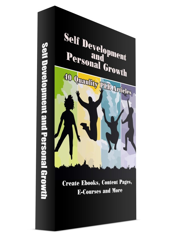 40 Self Improvement and Personal Growth PLR Articles