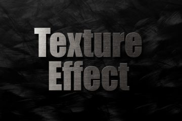 Creating a Textured Text Effect