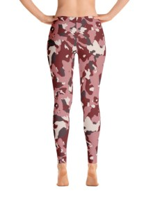 Red Camo Leggings 3