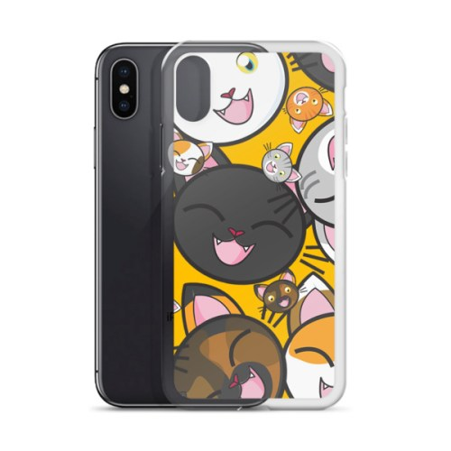 Happy Cats iPhone Case