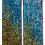 COUNTERPOINT 9 – GRASSES 2003 43X20X2