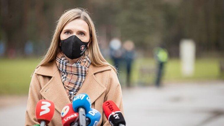 Interior Minister Agnė Bilotaitė