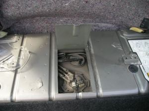 99 f body fuel pump tank access door