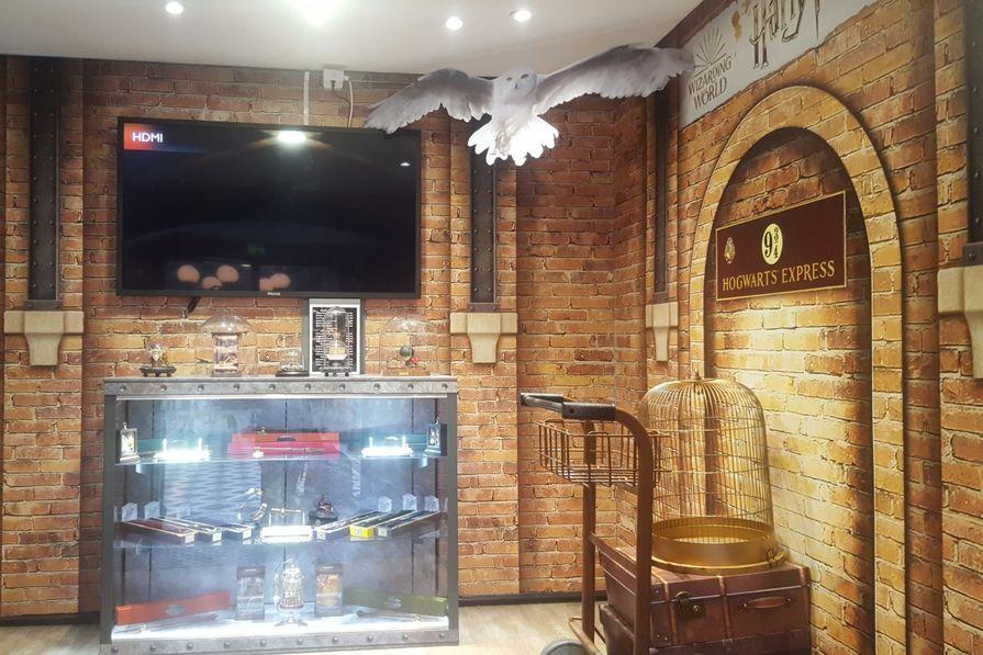 harry potter ouvre sa boutique