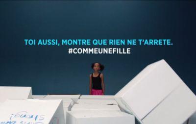 Le nouveau film comme une fille d'Always est lancé dans neuf pays dont la France.