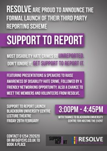 Support to Report Launch