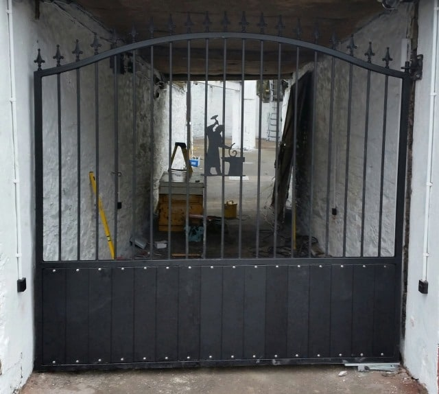 Steel Commercial Gates Cork