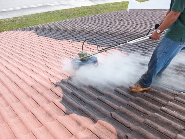 Steam Roof Cleaning Wexford