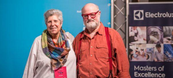Faith Willinger ed Ed Schoenfeld ad LSDM10. Foto di Alessandra Farinelli