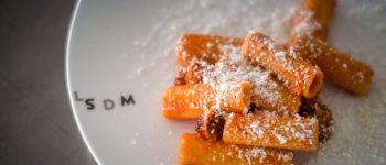 L'Amatriciana di Roscioli preparata da Nabil Hadj Hassen