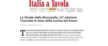Le Strade della Mozzarella, 11ª edizione  Tracciate le linee della cucina del futuro