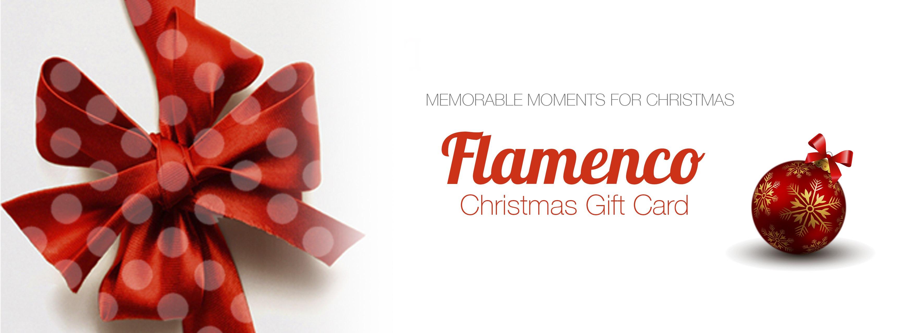 Banner Christmas Gift Card Lsflamenco