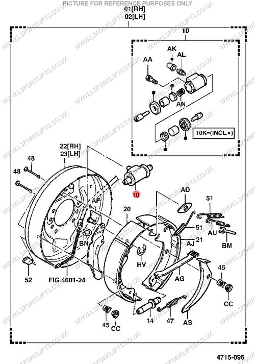 Toyota Forklift Brake Diagram