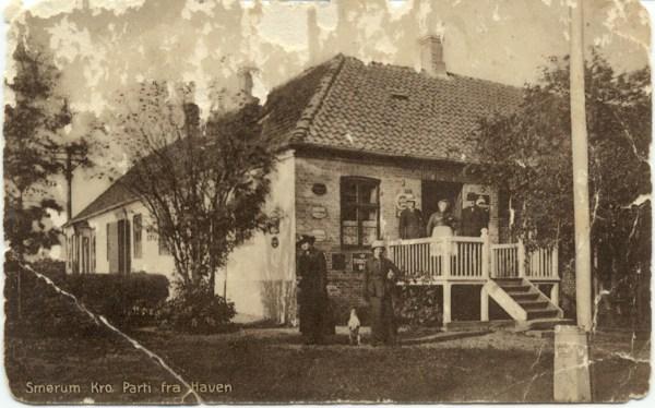Smørum krohave 1918