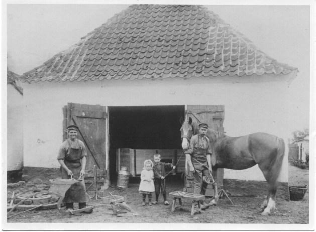 Smørum Smedie, Bygaden 30, 1915