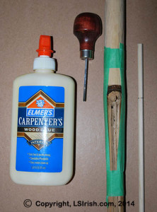 how to clamp your walking stick