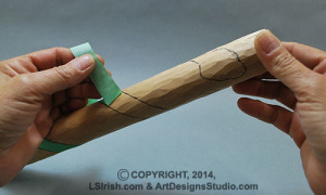wood carving free project by Lora S. Irish