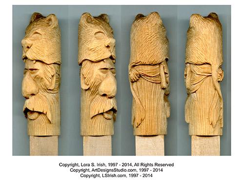 Mountain Man Cane Patterns by Lora Irish