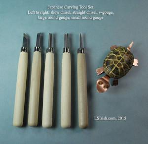 Japanese Wood Carving Tool Set