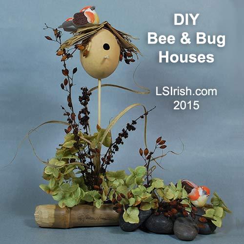 DIY Gourd Birdhouse Project