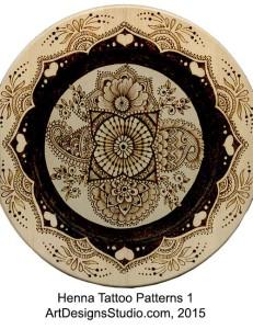 Henna Tattoo Patterns by Lora Irish