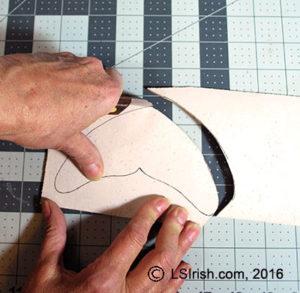 leather pyrography by Lora Irish