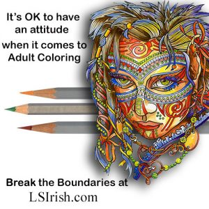 adult coloring portraits