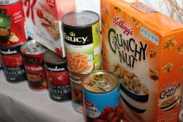Donations to food banks around the country are vital.