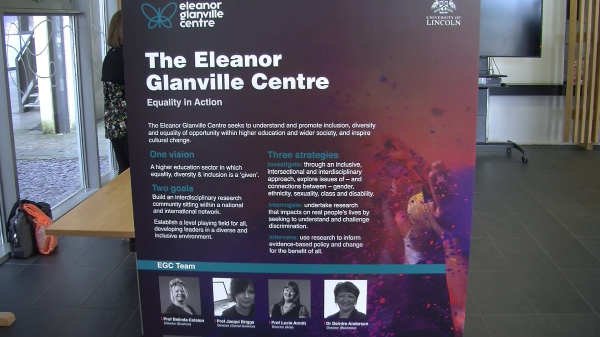 Eleanor Glanville Centre holds exhibition focusing on equality in Lincoln