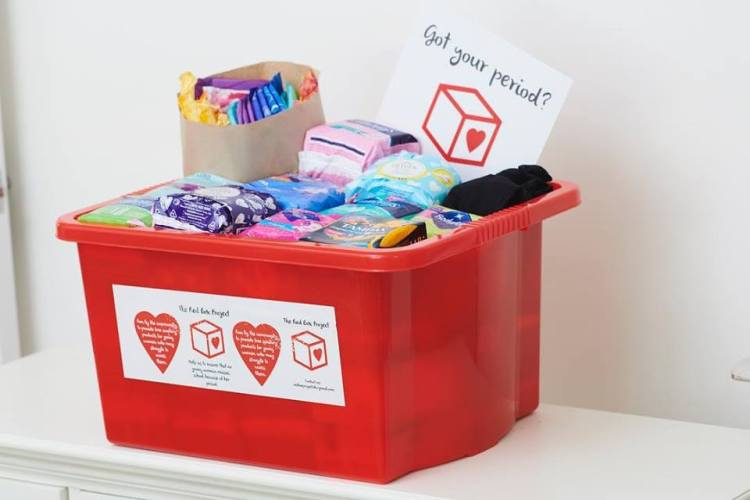 Photo: The Red Box Project