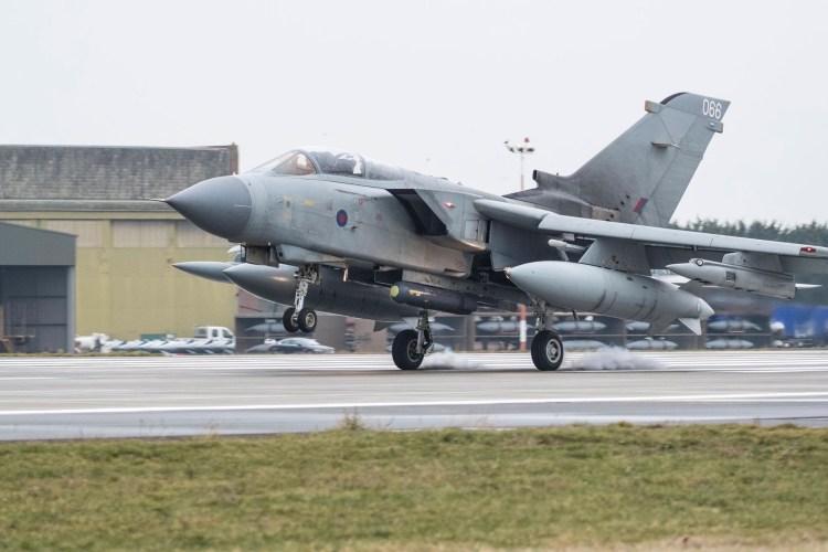 Photo of a Tornado Photo: RAF Marham