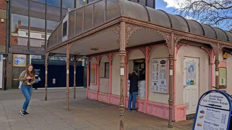The exterior of the Lincoln Cornhill Kiosk (c) Photo by Fergus Jeffs