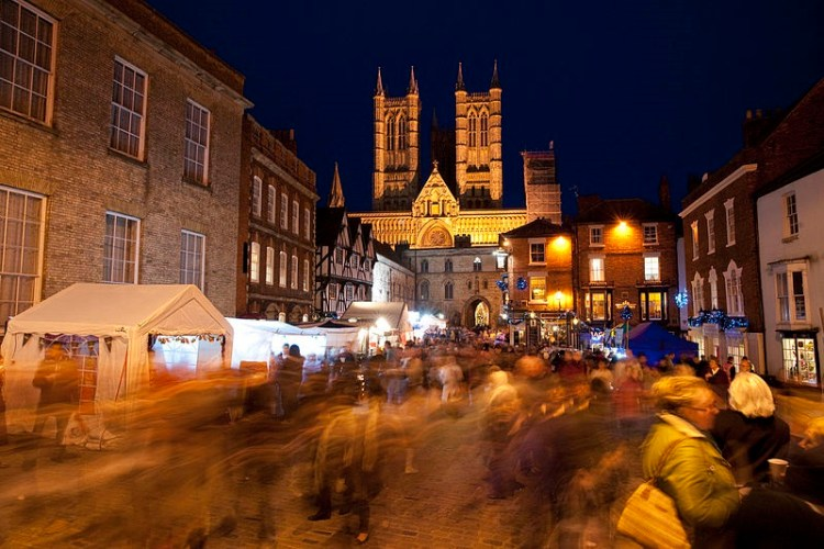 Lincoln Christmas Market. Photo Credit: Wikimedia Commons