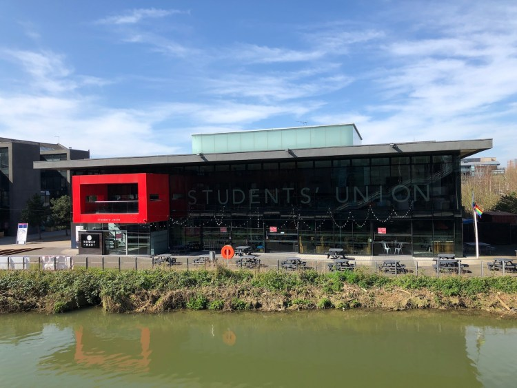 Lincoln Student's Union building and Tower Bar closed. Photo: Sophie Smith