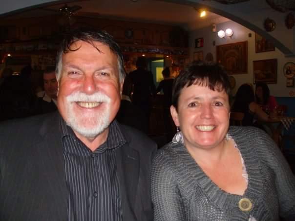 John Owen and his wife Annette. Photo: Rebekah Leggatt