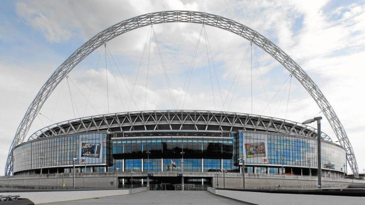 Photo: Wikiolo, https://commons.wikimedia.org/wiki/File:Wembley-STadion_2013.JPG