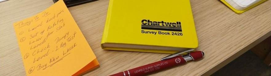 Chartwell 2426 Height of Collimation Survey Book
