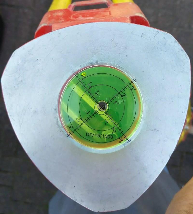 Large Bullseye Spirit Level