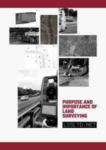 purpose and importance of land surveying