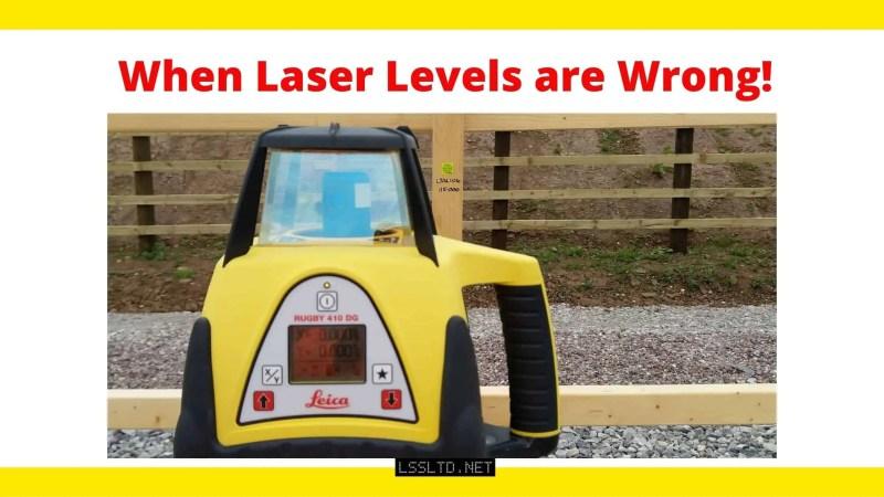 wrong laser level