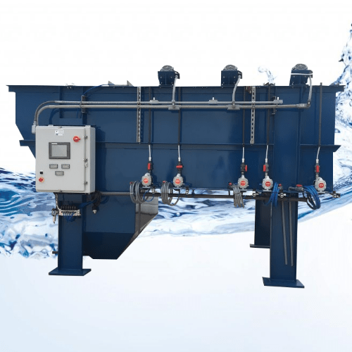 Flow Through Waste Water Treatment System